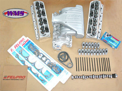 WMS Top End Engine kit, Stage 2, 5.0 Mustang