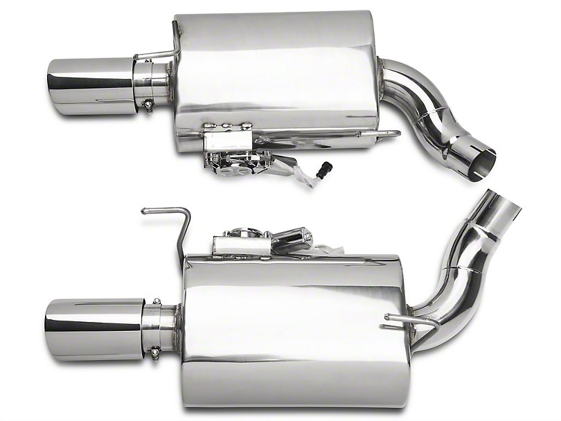Xforce Axle-Back Varex Mufflers, 2005-10 Ford Mustang GT, 2007-10 GT500