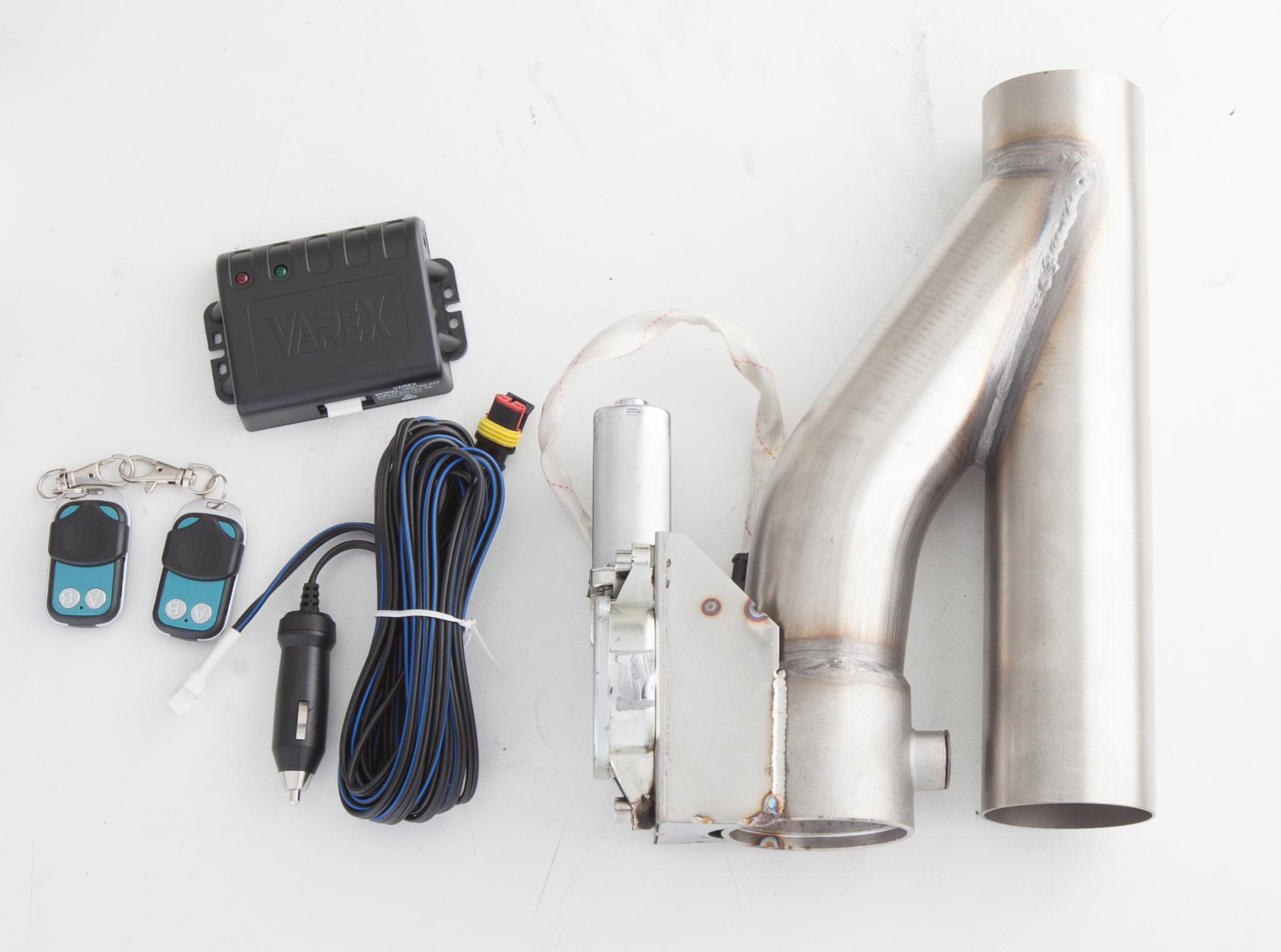 XForce Exhaust Cutout Kit, 2.5\