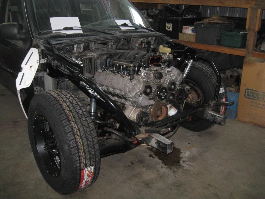 2005 Mustang 4.6 3V installed